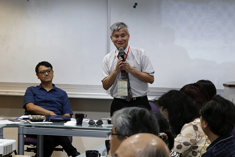 NTU English Teaching Community: Professor Lin Yu-Chen Says Students